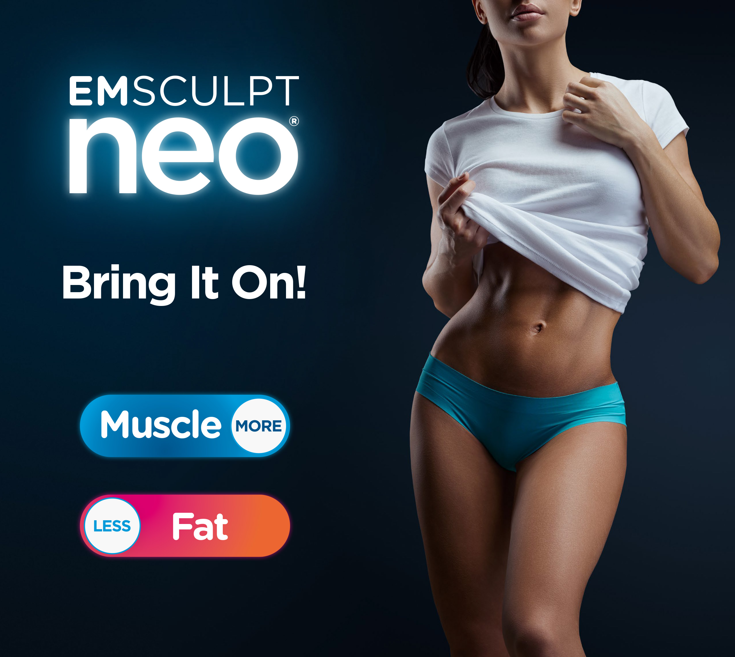 Emsculptneo®-muscle toning and fat reduction